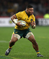 Tolu Latu of the Wallabies during the Rugby Championship match between Australia and New Zealand at Optus Stadium in Perth, Australia on August 10, 2019 . Photo: Gary Day / Frozen In Motion