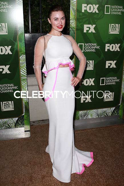 LOS ANGELES, CA, USA - AUGUST 25: Dasha German at the FOX, 20th Century FOX Television, FX Networks And National Geographic Channel's 2014 Emmy Award Nominee Celebration held at Vibiana on August 25, 2014 in Los Angeles, California, United States. (Photo by David Acosta/Celebrity Monitor)