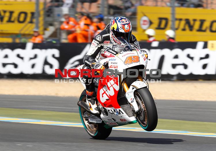 Monster Energy Grand Prix de France in Le Mans 14.-17.05.2015, Free Practice<br /> <br /> 43 Jack Miller / Australien<br /> <br /> Foto &copy; nordphoto / FSA