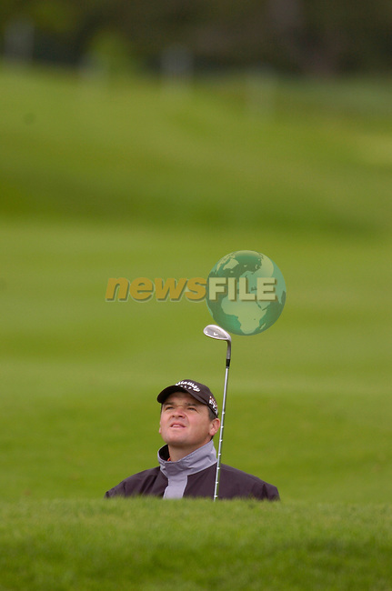 May 20th, 2006. Nissan Irish Open Golf, Carton House, Maynooth, Kildare..Scotland's Paul Lawrie in action on the 6th hole..Photo AFP/NEWSFILE/BARRY CRONIN..(Photo credit should read AFP PHOTO/BARRY CRONIN/NEWSFILE)