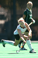 STANFORD, CA - SEPTEMBER 6: Colleen Ryan plays against Michigan State on September 6, 2010 in Stanford, California.