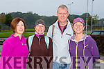 Joan Crowley, Eimear Douireu, Damian Murphy and Anne Murphy at the Old Kenmare walk in aid of Multiple Sclerosis Ireland on Sunday