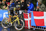 Yohann Gene (FRA) Direct Energie in action during Stage 1, a 14km individual time trial around Dusseldorf, of the 104th edition of the Tour de France 2017, Dusseldorf, Germany. 1st July 2017.<br /> Picture: Eoin Clarke | Cyclefile<br /> <br /> <br /> All photos usage must carry mandatory copyright credit (&copy; Cyclefile | Eoin Clarke)