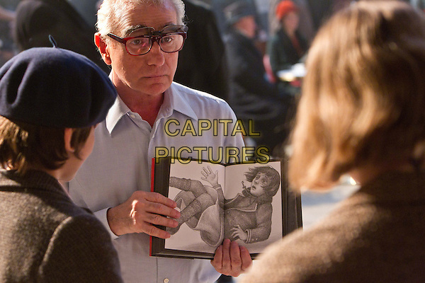 MARTIN SCORSESE, DIRECTOR.on the set of Hugo.*Filmstill - Editorial Use Only*.CAP/FB.Supplied by Capital Pictures.