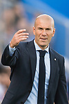 Manager Zinedine Zidane of Real Madrid gestures during the La Liga 2017-18 match between Getafe CF and Real Madrid at Coliseum Alfonso Perez on 14 October 2017 in Getafe, Spain. Photo by Diego Gonzalez / Power Sport Images