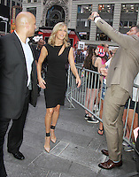 NEW YORK, NY-August 11: Lara Spencer host at Good Morning America go for GMA Games Gold in New York. NY August 11, 2016. Credit:RW/MediaPunch