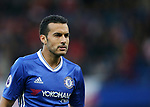 Chelsea's Pedro in action during the Premier League match at Stamford Bridge Stadium, London. Picture date: May 8th, 2017. Pic credit should read: David Klein/Sportimage