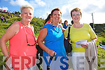 Ladies enjoying the Cahersiveen races on Sunday pictured l-r; Peggy O'Shea, Mary Pierce(Winner of the Best Dressed Lady Prize) & Chris O'Shea.