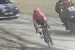 Simon Clarke (AUS) EF Education First on sector 5 Lucignano d'Asso during Strade Bianche 2019 running 184km from Siena to Siena, held over the white gravel roads of Tuscany, Italy. 9th March 2019.<br /> Picture: Eoin Clarke | Cyclefile<br /> <br /> <br /> All photos usage must carry mandatory copyright credit (&copy; Cyclefile | Eoin Clarke)