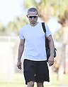 Ichiro Suzuki (Marlins), FEBRUARY 17, 2017 - MLB : Miami Marlins outfielder Ichiro Suzuki (51) arrives at the stadium prior to practice in Jupiter, Florida, United States. (Photo by AFLO)