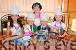 Darcy Murphy, Archie Walsh, Brody Mulvihill, Ella O'Connor, Rachel Parker enjoying the We can cook summer camp Ballybunion on Thursday