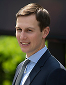 Senior advisor to the President Jared Kusher prior to the arrival of First Lady Melania Trump who will announce her Initiatives in the Rose Garden of the White House in Washington, DC on Monday, May 7, 2018.<br /> Credit: Ron Sachs / CNP<br /> (RESTRICTION: NO New York or New Jersey Newspapers or newspapers within a 75 mile radius of New York City)