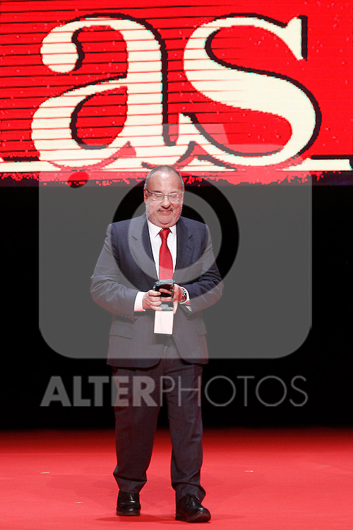 Alfredo Relano, Director of the sports newspaper As, during 37 Sport Gala - National Sports Awards 2017. March 6,2017. (ALTERPHOTOS/Acero)