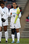 14 November 2014: North Carolina's Bianca Gray. The University of North Carolina Tar Heels hosted the South Dakota State University Jackrabbits at Fetzer Field in Chapel Hill, NC in a 2014 NCAA Division I Women's Soccer Tournament First Round match. UNC won the game 2-0.