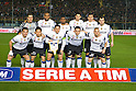 Inter team group line-up (Inter), March 11, 2011 - Football : the teams play with a band of mourning on the arm in remembrance of earthquake victims in Japan. Italian Serie A 2010-2011, match between  Brescia 1-1 Internazionale at Mario Rigamonti Stadium, Brescia, Italy, (Photo by Enrico Calderoni/AFLO SPORT) [0391]