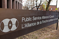 Public Service Alliance of Canada headquarters is pictured in Ottawa Tuesday April 24, 2012. The Public Service Alliance of Canada (PSAC) is one of Canadas largest national labour unions, with members in every province and territory.
