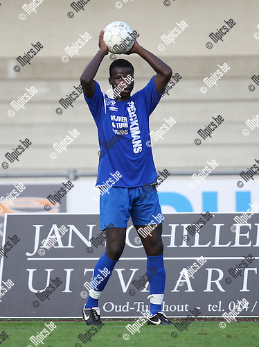 2007-08-04 / Voetbal / KV Turnhout / Habib N'Diaye