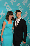 Alexis Bledel & Jason Ritter - Us & Them at the 2013 Fox Upfront Post Party on May 13, 2013 at Wolman Rink, Central Park, New York City, New York. (Photo by Sue Coflin/Max Photos)