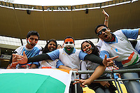 India fans during 2nd Twenty20 cricket match match between New Zealand Black Caps and West Indies at Westpac Stadium, Wellington, New Zealand on Friday, 27 February 2009. Photo: Dave Lintott / lintottphoto.co.nz