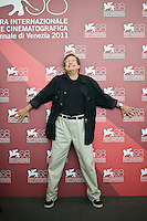 US director William Friedkin poses during the photocall of 'Killer Joe' at the 68th Venice Film Festival