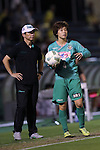 (L-R) <br />  Eiji Mori (Beleza), <br /> Mayo Doko (Beleza), <br /> SEPTEMBER 3, 2016 - Football / Soccer : <br /> Plenus Nadeshiko League Cup 2016 Division 1 Final match <br /> between NTV Beleza 4-0 Jef Chiba Ladies <br /> at Ajinomoto Field Nishigaoka in Tokyo, Japan. <br /> (Photo by AFLO SPORT)