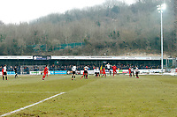 1st half wide shot of the fround during Dover Athletic vs Leyton Orient, Vanarama National League Football at the Crabble Athletic Ground on 3rd March 2018