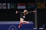 Glasgow 2014 Commonwealth Games<br /> <br /> Gymnastics Artistic Apparatus Final<br /> Elizabeth Beddoe (Wales) <br /> <br /> 01.08.14<br /> &copy;Steve Pope-SPORTINGWALES