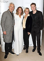 Martin Kemp, HarleyMoon Kemp, Shirlie Kemp and Roman Kemp at The George Michael Collection - VIP private view and reception at Christies, St James, London on March 12th 2019<br /> CAP/ROS<br /> &copy;ROS/Capital Pictures