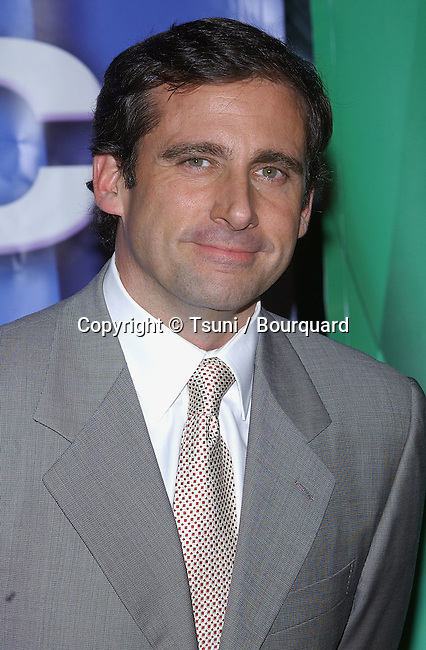 Steve Carell arriving at the NBC tca Winter Party at the Universal City Walk in Los Angeles. Janurary 21, 2005.