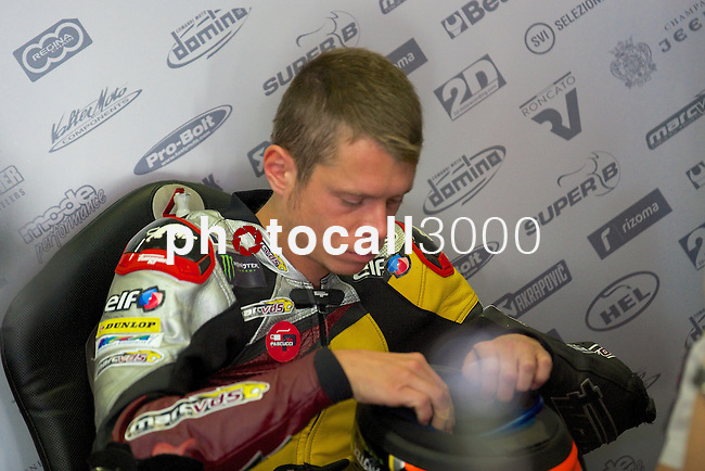 Gran Premi Monster de Catalunya in Montmeló Circuit<br /> 14/06/2014 <br /> moto2 free practices<br /> tito rabat<br />