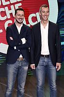 Milano 06/09/2017 - photocall trasmissione Tv Quelli che il calcio / foto Daniele Buffa/Image/Insidefoto <br /> nella foto: Luca Bizzarri-Paolo Kessisoglu