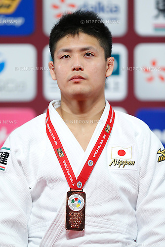 Daiki Nishiyama (JPN), <br /> DECEMBER 4, 2016 - Judo : IJF Grand Slam Tokyo 2016 International Judo Tournament <br /> Men's -90kg Award Ceremony  <br /> at Tokyo Metropolitan Gymnasium in Tokyo, Japan.  (Photo by Sho Tamura/AFLO SPORT)