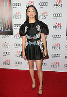 "17 November 2016 -  Hollywood, California - Lana Condor. AFI FEST 2016 - Closing Gala - Premiere Of ""Patriot's Day"" held at The TCL Chinese Theatre. Photo Credit: AdMedia"