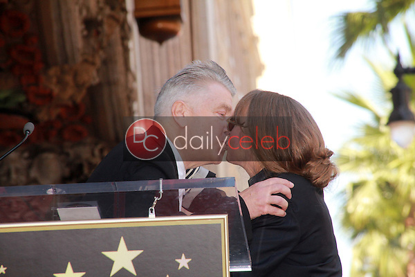 David Lynch, Sissy Spacek<br /> at Sissy Spacek's induction into the Hollywood Walk of Fame, Hollywood Blvd, Hollywood, CA. 08-01-11<br /> David Edwards/DailyCeleb.com 818-249-4998
