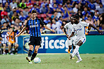 FC Internazionale Midfielder Roberto Gagliardini (L) in action during the International Champions Cup 2017 match between FC Internazionale and Chelsea FC on July 29, 2017 in Singapore. Photo by Marcio Rodrigo Machado / Power Sport Images