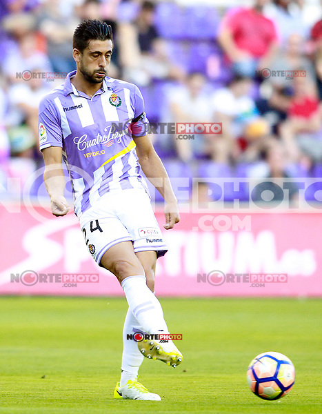 Real Valladolid's Alex Perez during La Liga Second Division match. June 10,2017. (ALTERPHOTOS/Acero) (NortePhoto.com) (NortePhoto.com)