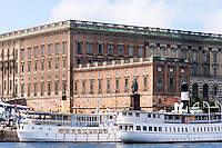 Sweden, Stockholm. The Royal Cstle.