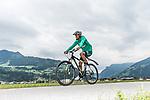 09.07.2019, Zell am Ziller, AUT, TL Werder Bremen Zell am Ziller / Zillertal Tag 05<br /> <br /> im Bild<br /> Theodor Gebre Selassie (Werder Bremen #23) <br /> auf Mountainbike bei Radtour im Zillertal <br /> <br /> Foto © nordphoto / Ewert