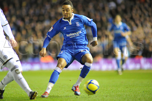 06.03.2012 Birmingham, England. Birmingham City versus Chelsea. Nathan Redmond (Birmingham City) in action during the FA Cup 5th Round replay match played at the St Andrews Stadium. Chelsea won the tie 0-2 to go through to the next round.