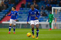 Oldham Athletic's Ousmane Fane (C) during the Sky Bet League 1 match between Oldham Athletic and Rochdale at Boundary Park, Oldham, England on 18 November 2017. Photo by Juel Miah/PRiME Media Images