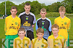 The 2010 Kerry Kennedy Cup Dynamic Defenders front row l-r: Donal Lyne, Shane Cronin, John Tyther,  Back row: Liam Carey, Shane Ryan, Jesse O'Sullivan and Cian Kennedy