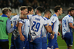 Gaston Ramirez of Sampdoria celebrates with team mates after scoring to give the side a 2-1 lead during the Serie A match at Stadio Grande Torino, Turin. Picture date: 8th February 2020. Picture credit should read: Jonathan Moscrop/Sportimage