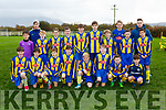 The Killorglin team that played Iveragh United in the u13 FAI cup in Killorglin on Saturday