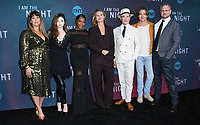 "09 May 2019 - North Hollywood, California - Patty Jenkins, India Eisley, Golden Brooks, Connie Nielsen, Jefferson Mays, Chris Pine, Sam Sheridan. Emmy FYC for TNT'S ""I Am the Night"" held at the Saban Media Center at the Television Academy.   <br /> CAP/ADM/BT<br /> ©BT/ADM/Capital Pictures"