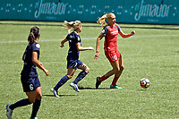 Portland, OR - Saturday July 15, 2017: Allie Long during a regular season National Women's Soccer League (NWSL) match between the Portland Thorns FC and the North Carolina Courage at Providence Park.