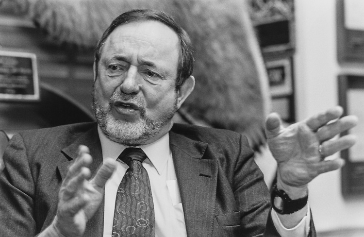 Rep. Don Young, R-Alaska, on March 5, 1998. (Photo by Chris Martin/CQ Roll Call via Getty Images)