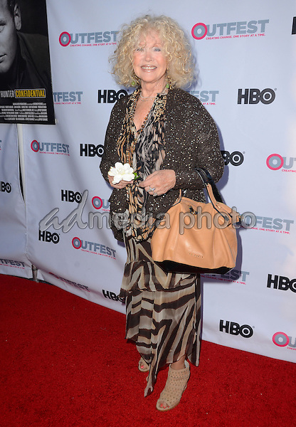 "11 July 2015 - West Hollywood, California - Connie Stevens. Arrivals for the 2015 Outfest Los Angeles LGBT Film Festival screening of ""Tab Hunter Confidential"" held at The DGA Theater. Photo Credit: Birdie Thompson/AdMedia"
