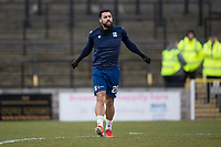 7th March 2020; Somerset Park, Ayr, South Ayrshire, Scotland; Scottish Championship Football, Ayr United versus Dundee FC; Kane Hemmings of Dundee during the warm up before the match