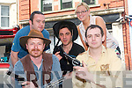 The street of Cahersiveen will be transformed this weekend for the first ever Wild West Festival. .Front L-R Alan Landers and Sean Egan .Back L-R Rory (Camo) McCarthy, TK Nassar and Alanna Kelleher.
