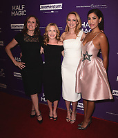 """WEST HOLLYWOOD - FEBRUARY 21:  Molly Shannon, Angela Kinsey, Heather Graham and Stephanie Beatriz at Los Angeles screening of """"Half Magic"""" at The London West Hollywood on February 21, 2018 in West Hollywood, California.(Photo by Scott Kirkland/PictureGroup)"""